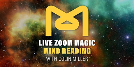 Zoom Magic and Mind Reading with Colin Miller tickets