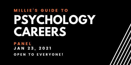 PANEL | Millie's Guide to Psychology Careers tickets