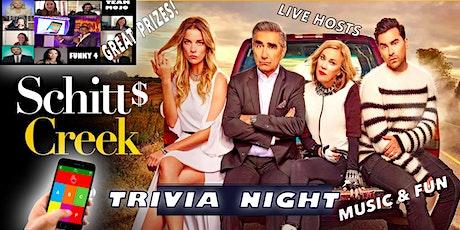 Schitts Creek Trivia Night Great Fun   Great Prizes l tickets