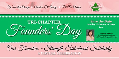 Alpha Kappa Alpha Sorority, Inc. Tri-Chapter Founders' Day tickets