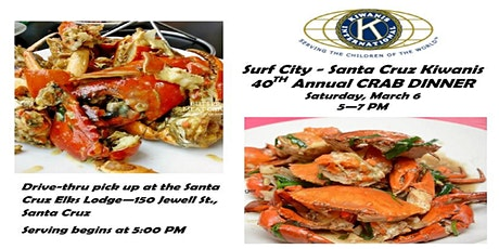 Grab and Go Crab Dinner tickets