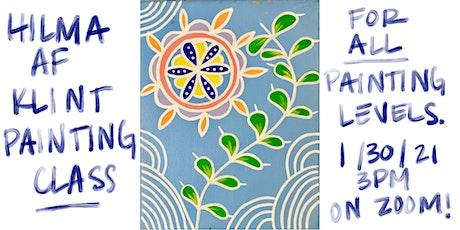 Hilma af Klint Painting Class tickets