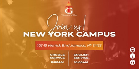 TG NYC 2021 Sunday Service, 8:00 AM tickets