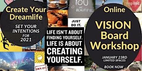 Re-Set your Focus  Vision Board Workshop tickets