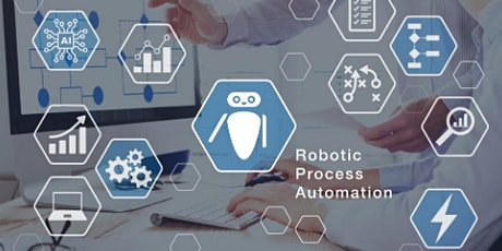 4 Weekends Only Robotic Automation (RPA) Training Course Folkestone tickets