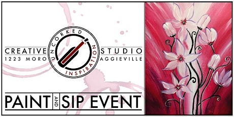 Paint & Sip | Red & White Lillies tickets