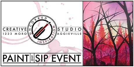 Paint & Sip | Cotton Candy Forest tickets