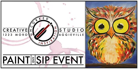 Paint & Sip | Baby Owl tickets