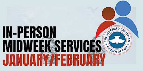 Midweek Services - January & February 2021 tickets