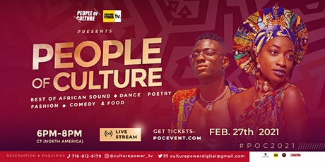 People of Culture 2021 tickets
