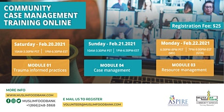 Community Case Management Training - ONLINE tickets