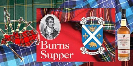 Robert Burns Supper Presented by The St. Andrew's Society of Los Angeles tickets