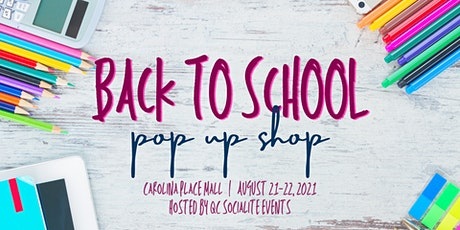 Back to School Pop Up Shop tickets