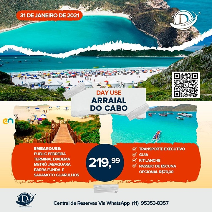 Imagem do evento Arraial do cabo