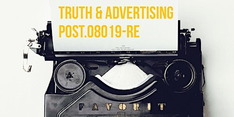 FALL POST  Modules J, F Truth in Advertising tickets