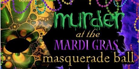 Mardi Gras Murder Mystery Masquerade tickets