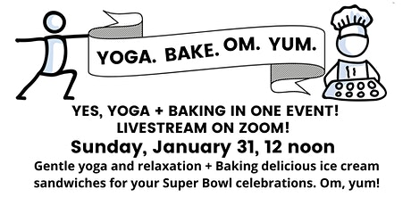 Yoga.Bake.Om.Yum. tickets