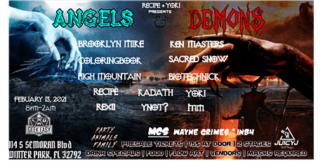 Angels & Demons (VDay Weekend) (02.13.21) tickets