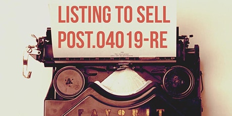 FALL POST Module B Listing to Sell tickets