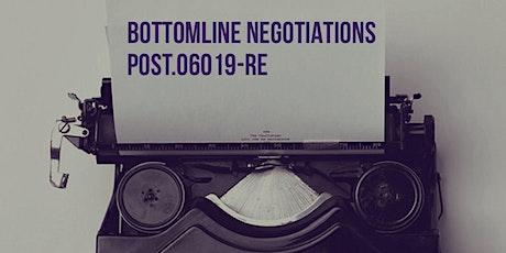 FALL POST Modules N,G Bottomline Negotiations tickets