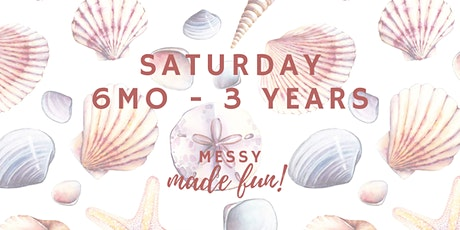 Saturday Experience at Messy Made Fun 6mo - 3yo (pre-crawlers to walkers) tickets