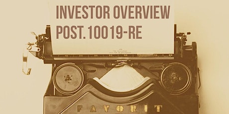 FALL POST Modules I, K, O Investor Overview tickets