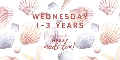 Wednesday Experience at Messy Made Fun 1 - 3yo (crawlers and walkers) tickets
