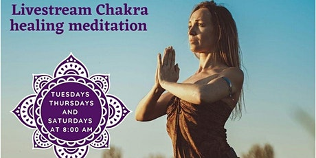 Livestream Chakra Healing Meditation tickets