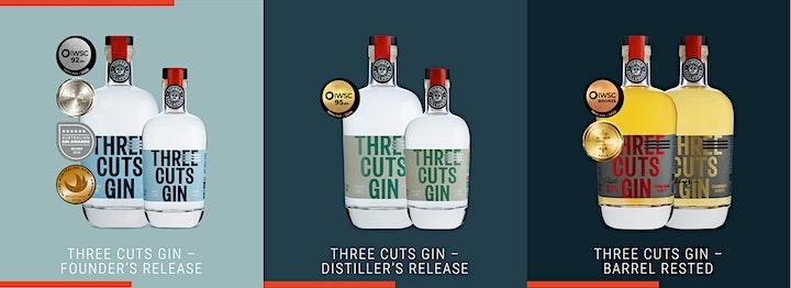 Three Cuts Gin & Oyster Tasting image