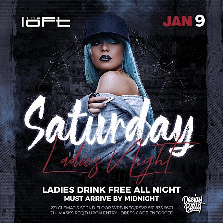 Saturday Ladies Night | The Loft image