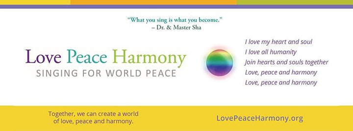 Love Peace Harmony Healing for Humanity image