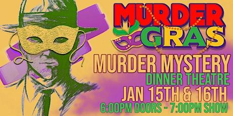 Murder Gras Murder Mystery Dinner Show @ Seville Quarter Heritage Hall tickets