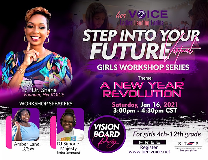 2021 STEP into Your Future Girls Workshop Series Q1 image