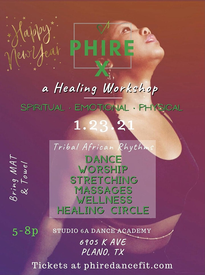 Phire X: a Healing Workshop 2021 image