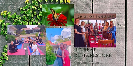"Retreat ""Rest and Restore"" tickets"