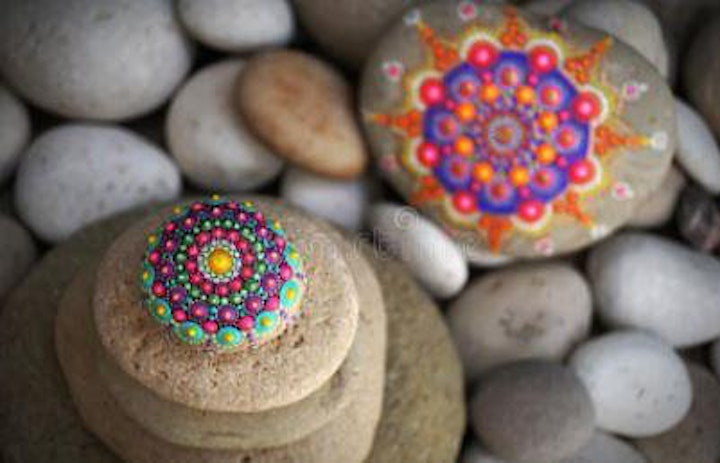 Mandala Rock Painting Workshop image