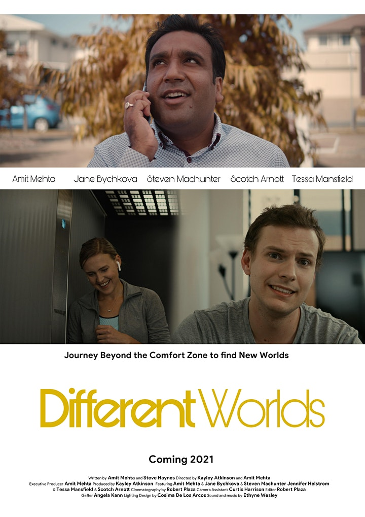 """Different Worlds"" Web Series - Pilot Episode (Private Screening) image"