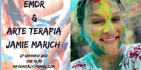 EMDR & Arte Terapia Espressiva con la Dott.ssa Jamie Marich biglietti
