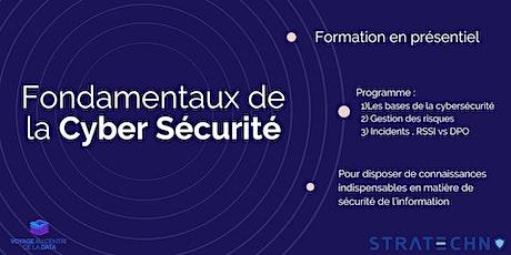 Les fondamentaux de la cybersécurité - Session d'Île-De-France billets