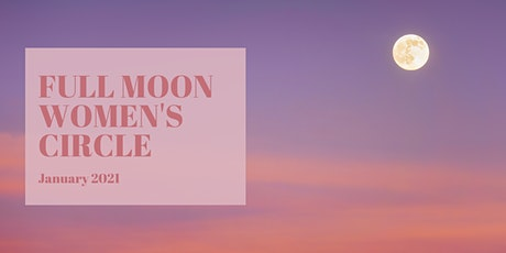 Full moon circle - January 2021 tickets