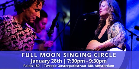 January Full Moon Singing Circle with Leonie Bos & Terence Samson tickets