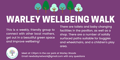 Warley Wellbeing Walks tickets