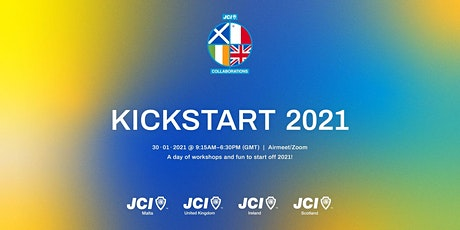 Kickstart 2021 with JCI UK, JCI Ireland, JCI Scotland and JCI Malta tickets