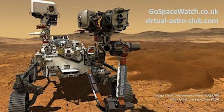 NASA Perseverance  Rover Mars Landing Online Social tickets