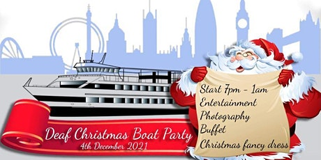 Deaf Xmas Boat Party 2021 tickets