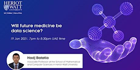 Will future medicine be data science? biglietti