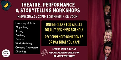 Theatre, Performance & Storytelling - Weekly Workshops! tickets