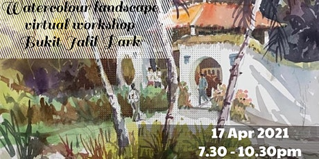 Watercolour Landscape Workshop - Bukit Jalil Park tickets