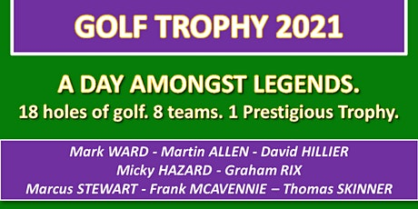 Purple Sector Golf Trophy 2021 tickets