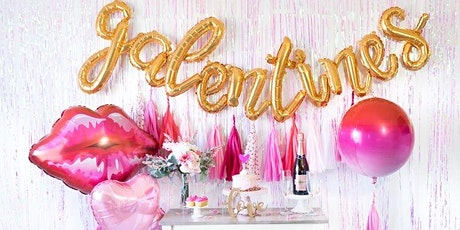 Galentine's Day Bubbly and Bouquets Flower workshop tickets